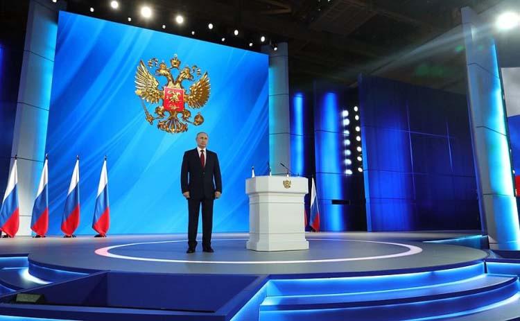 Выступление Владимира Путина перед Федеральным Собранием